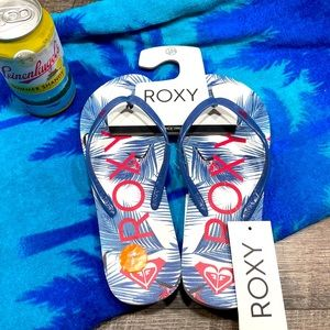🏝Roxy flip flop sandals women's NWT🏝